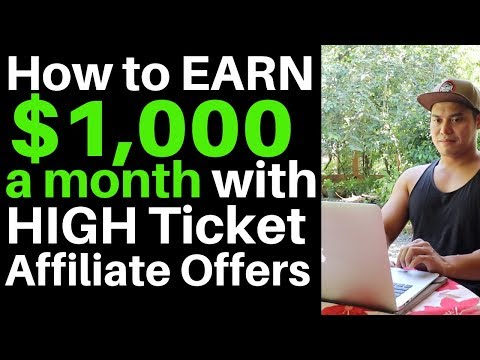 How to Earn $1000 a Month with Affiliate Marketing thumbnail