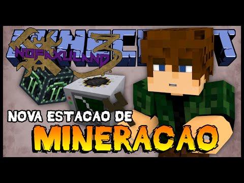 Nova Estação de Mineração no Deep Dark - Nofaxuland 3 #95 (Minecraft + Mods 1.6.4)