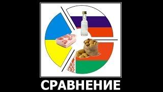 Сравнение Беларуси, Украины и России