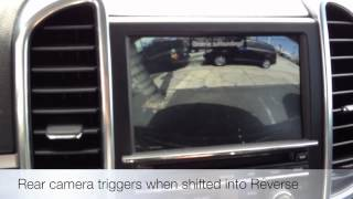 Nav TV 2012 Porsche Cayenne Plug n Play Reverse Camera Beverly Hills, CA