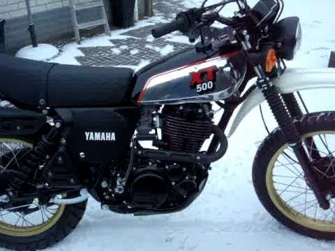 Rebuild Yamaha XT 500 1981 - YouTube