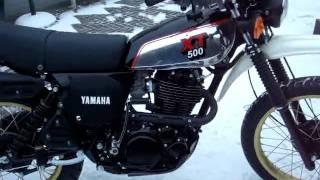 Rebuild Yamaha XT 500  1981
