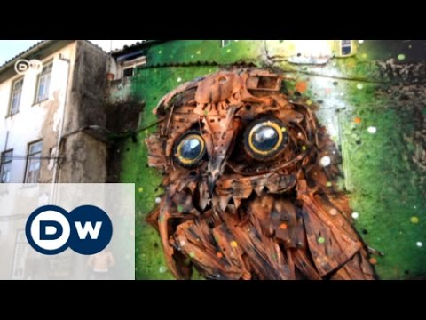 From trash to art - murals by Bordalo Segundo | Euromaxx