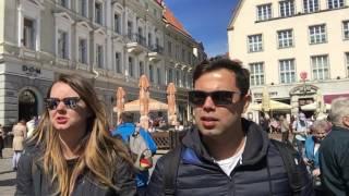 Estonya Tallinn Gezisi