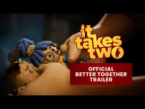 It Takes Two – Bande-annonce officielle On est meilleurs ensemble