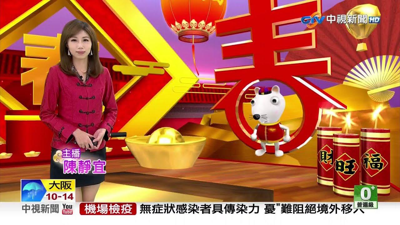 2020.01.29 中視主播 陳靜宜 旗袍裝播報 《1300 即時新聞現場》P1 - YouTube