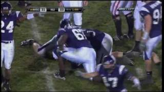 For Jack: Northwestern Wildcats Safety Brian Peters Career Highlights