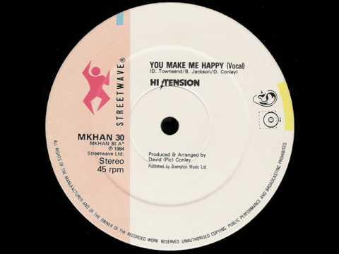 Hi Tension - You  Make Me Happy