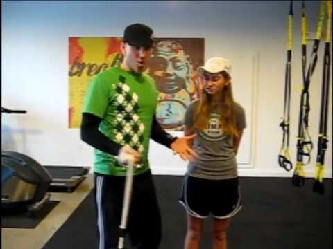 Golf Power Ball Exercises