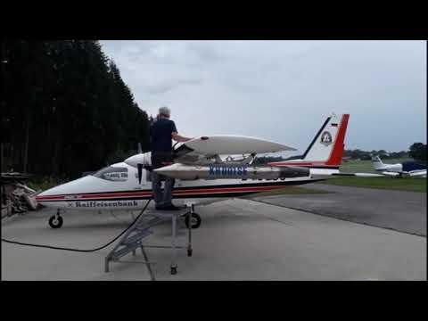 Hagelalarm! Hagelflieger kämpfen von Vogtareuth aus gegen Unwetter im Raum Rosenheim from YouTube · Duration:  58 seconds