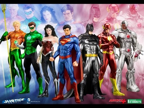 DC Comics - Collection figurines Kotobukiya ARTFX+