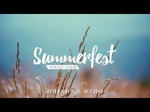 Summerfest – Keskllä elämää 15.7.2017 // Nicky Cruz