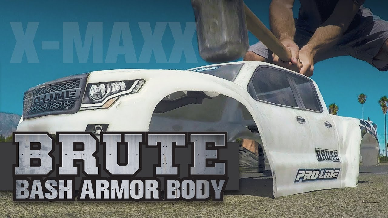 Pro-Line Pre-Cut Brute Bash Armor Body for X-MAXX