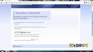 Crea un correo falso para registros !