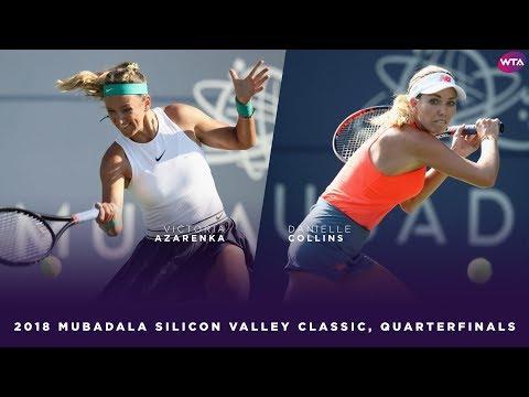 Victoria Azarenka vs. Danielle Collins | 2018 Mubadala Silicon Valley Classic Quarterfinals