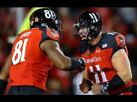 2016 American Football Highlights - Cincinnati 31, ECU 19