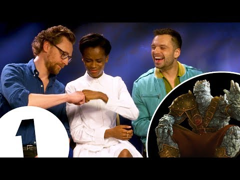 Tom Hiddleston's spot-on Korg impression.