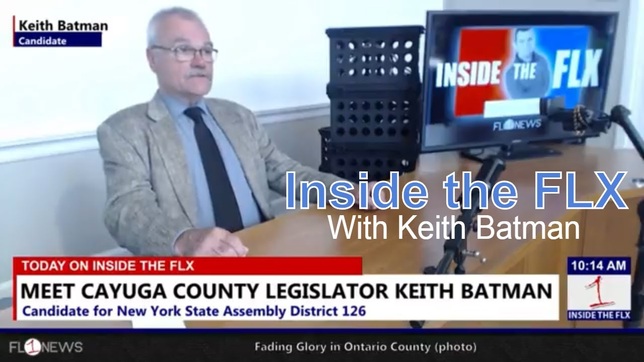 Keith Batman running to challenge Finch for NY Assembly .::. Inside the FLX 5/29/18