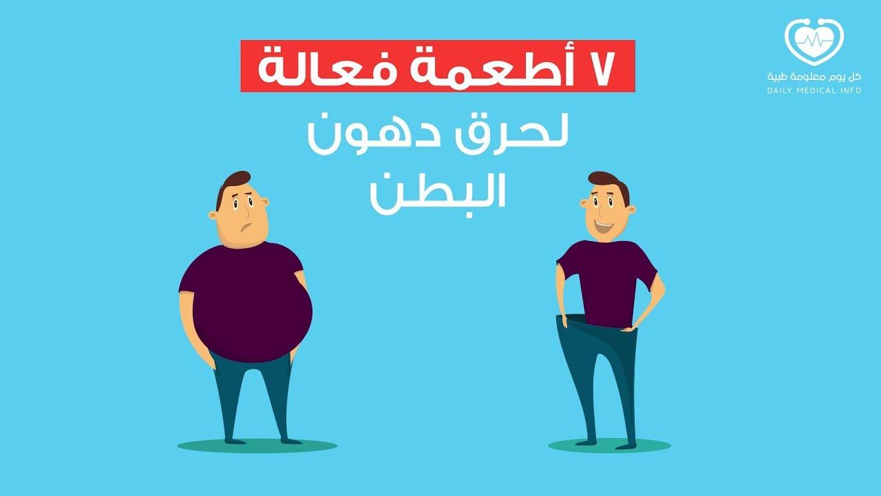 أطعمة تساعد على حرق الدهون البطن