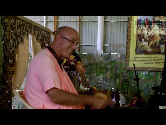 Лекция Е.С. Индрадьюмна Свами на Фестивале Санкиртаны, Садху Санга 2019