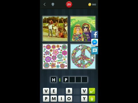 4 Pics 1 Word: Level 201-300!(Solved)