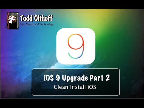 how to clean install ios 11