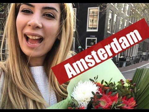 VLOG   Azeri in Amsterdam ♥ Red Light District, Madame Tussauds
