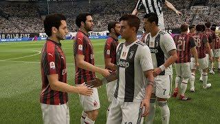 FIFA 19 | Juventus vs AC Milan - Allianz Stadium - (Full Gameplay Xbox One X)