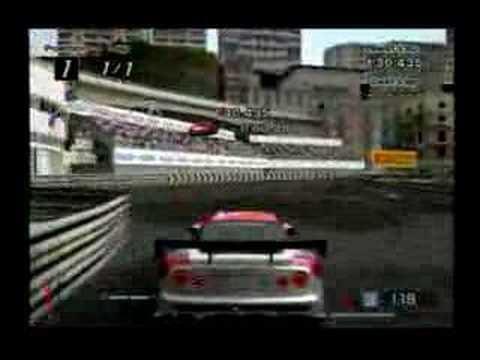PS2 - GT4 - Côte d'Azur Nissan GT-R  (One Lap)
