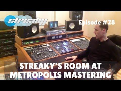 Streaky's Mastering Studio @ Metropolis Mastering London