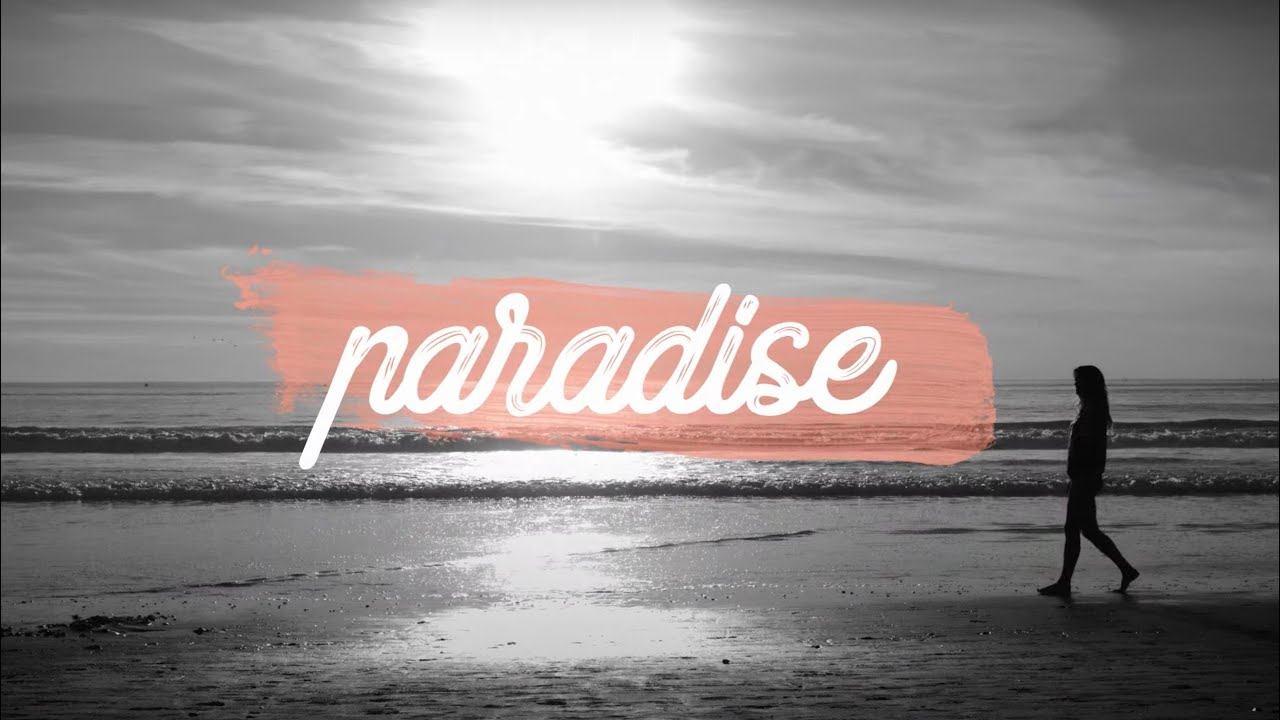 Zac Brown Band - Paradise Lost On Me (Lyric Video)