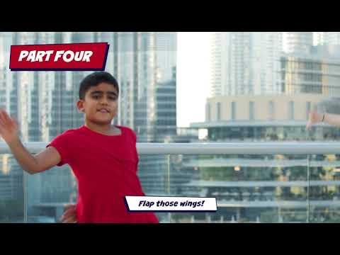 Hey Hey Owlette! PJ Masks workout video 2 | Dubai Fitness Challenge 2020