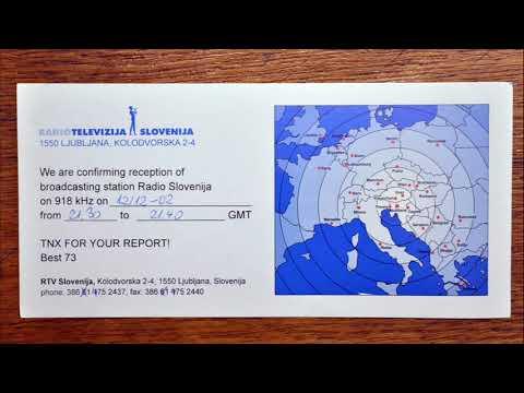 RADIO SLOVENIA 918 kHz MW