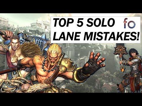 fineokay - TOP 5 SOLO LANE MISTAKES!