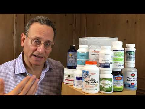 Magnesium Supplements: What You Need To Know -- Dr. Tod Cooperman