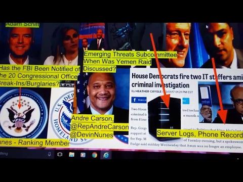 Day 132 - Hillary's Hackers, Awan Brothers Saga Deepens Part 4 (3-4-17)