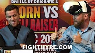 JEFF HORN DISSED FOR