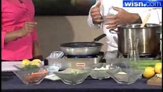 Making Meals With Marcus Restaurants: Lamb Loin Lemon Saffron Couscous