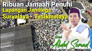 Video FULL HD UAS Ustadz Abdul Somad LC,  MA di Lapangan Jamilega  Suryalaya Pagerageung Tasikmalaya JABAR download MP3, 3GP, MP4, WEBM, AVI, FLV Oktober 2018