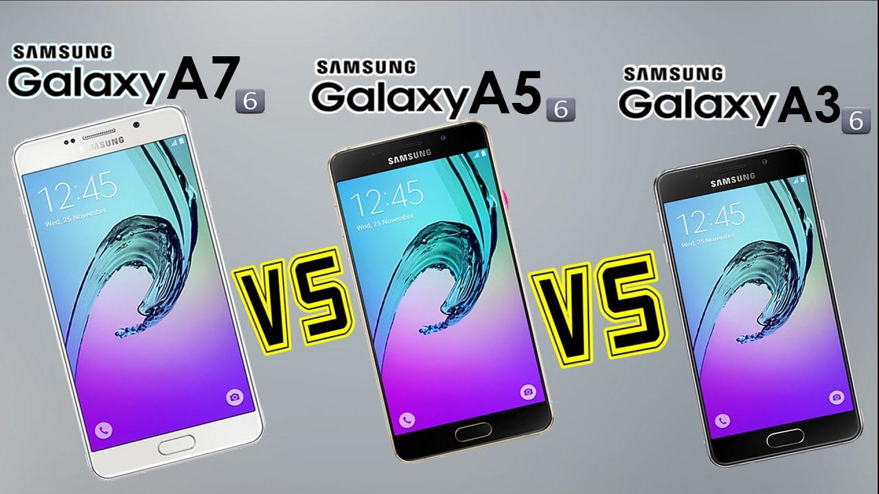 Samsung Galaxy A7 Vs A5 A3 2016 Specs Comparison Review