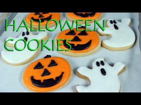 decorated halloween cookies vegan gretchens bakery - Decorating Halloween Cookies