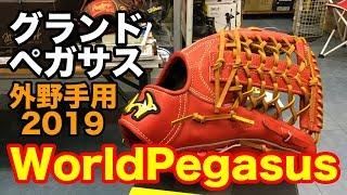 硬式外野手用グラブ WorldPegasus #1903