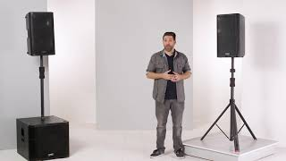 Gator Frameworks iD Series Speaker & Sub Pole Stands