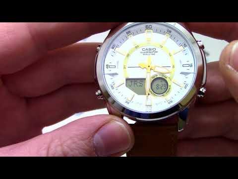 Часы Casio Outgear AMW-810L-5A - Инструкция, как настроить от PresidentWatches.Ru