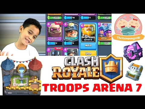 Buka Chest Royale Arena - Dolanan Clash Royale [6] - 동영상