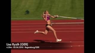 Lisa Ryzih (GER) - 4.50m - 05.06.2010 - Regensburg/GER