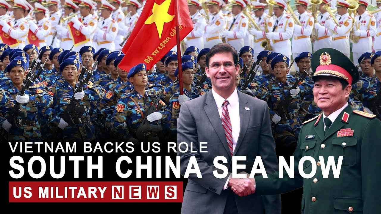 Vietnam backs US role in South China Sea, rebuffing Beijing