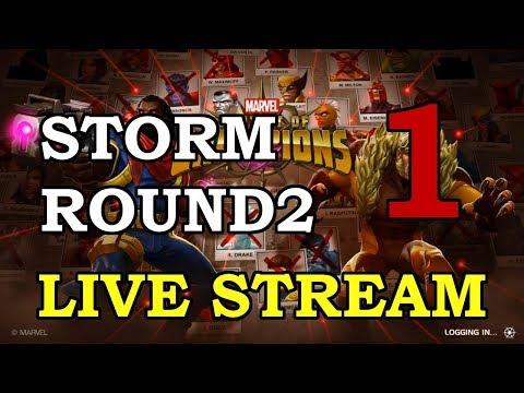 Storm Round 2 - Part 1 | Marvel Contest of Champions Live Stream