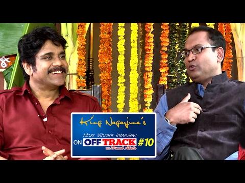 Akkineni Nagarjuna's Vibrant Interview | Off-Track #10 | Telugu News | TV5 News