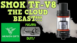 Smok TF V8 The Cloud Beast! It's all about the RBA deck!! Kicking Butts!!